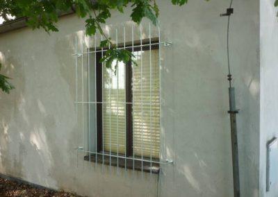 Strojírenská výroba Horák (SVH) Mříže na okna a dveře